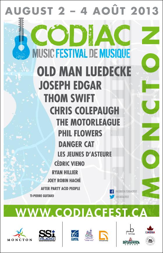 Codiac Music Festival affiche 11x17 HR v3
