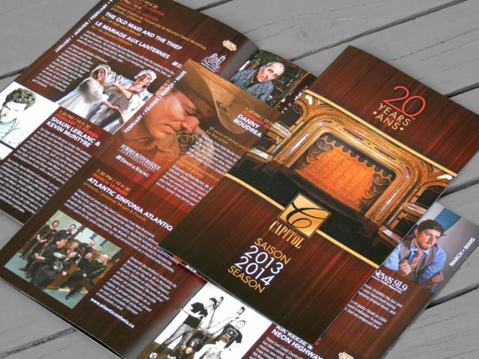 Programme de saison - Théâtre Capitol Theatre