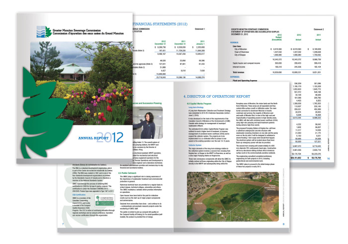 Annual Report - Greater Moncton Sewerage Commision