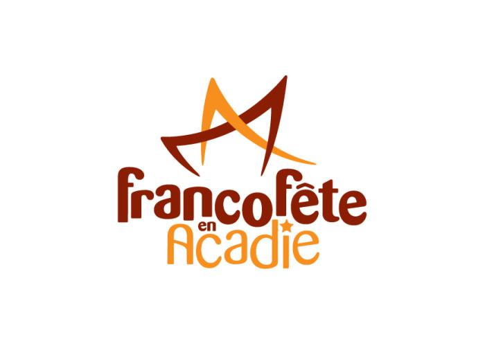 Logo - FrancoFête en Acadie