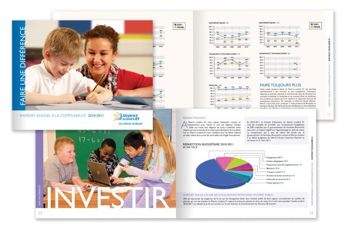 Rapport Annuel - District scolaire 1