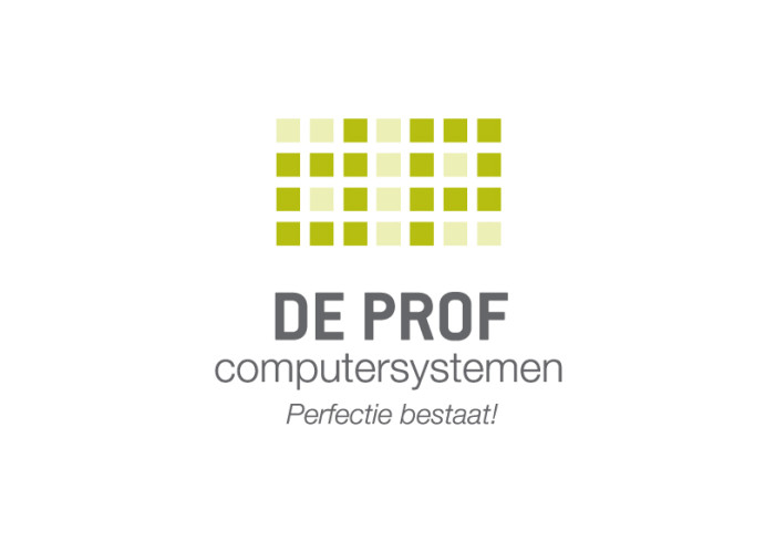 Logo - De Prof computersystemen
