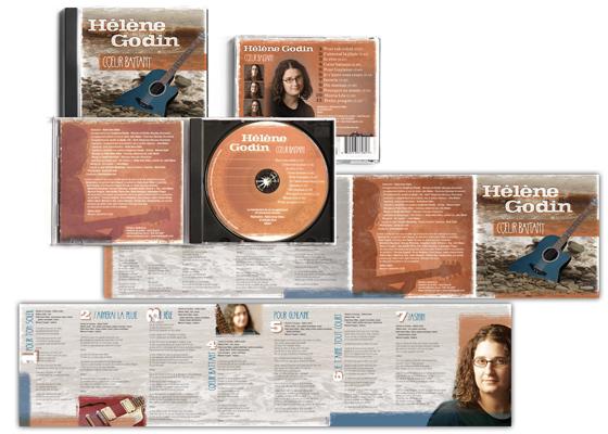 CD - Coeur battant, Hélène Godin