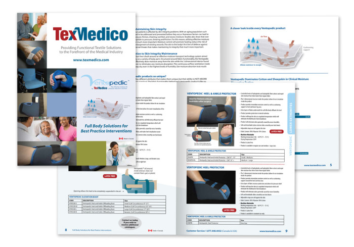 Catalogue - Texmedico / Ventopedic