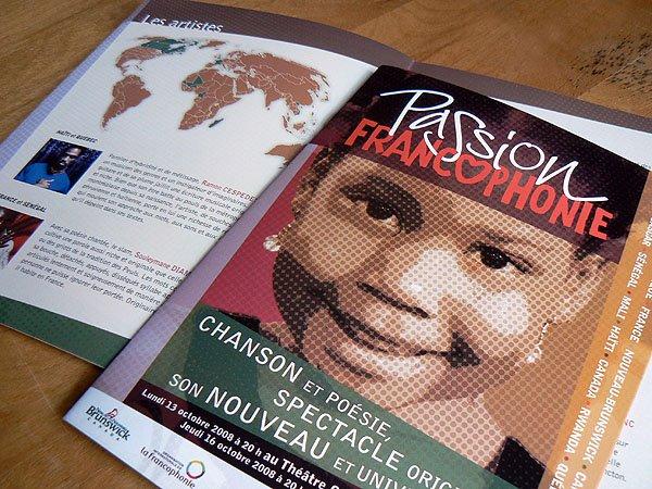 Brochure - Passion francophonie