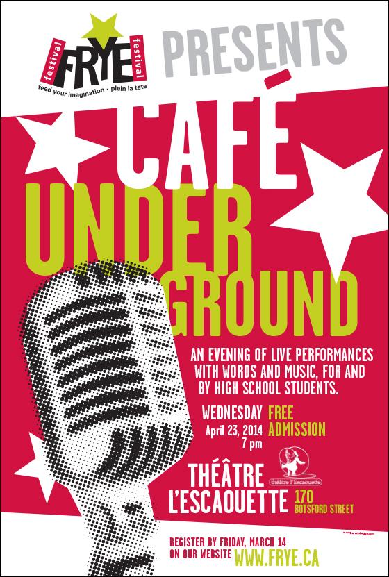 Poster / Affiche - Café Underground
