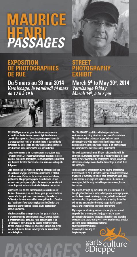 Affiche Maurice Henri poster 17x32 HR