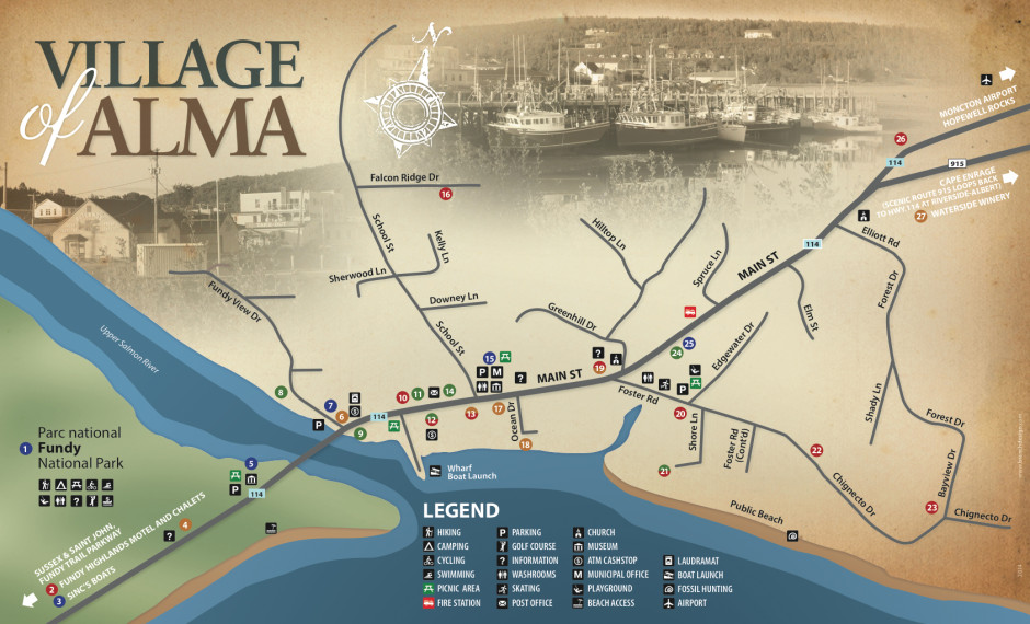 2014 Map / Village of Alma
